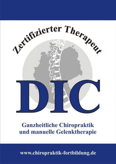 Zertifizierter Therapeut für ganzheitliche Chiropraktik und manuelle Gelenktherapie | Aufbau- und Zertifizierungskurs