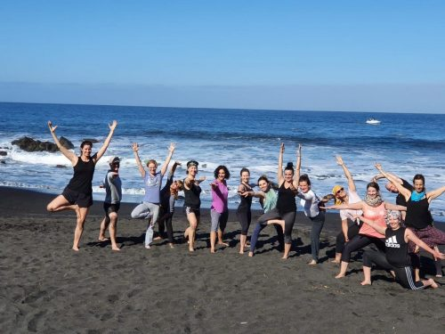 Faszien-Yoga auf La Gomera | Bindegewebe